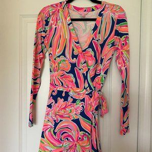 NWOT Lilly Pulitzer Romper Small Pink Multi